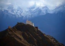 Monastero sulla collina Fotografia Stock