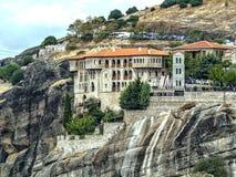 Monastero sulla roccia Immagini Stock