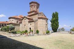 Monastero SV repubblica Europa della Macedonia del ohrid del lago di naum Fotografia Stock Libera da Diritti
