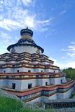 Monastero tibetano   Fotografia Stock Libera da Diritti