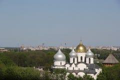 Monastero in Velikiy Novgorod Immagini Stock