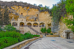 Monastero vicino a Pafo, Cipro di Neophytos del san Fotografia Stock Libera da Diritti