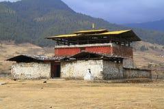 Monastero Wangdue Phodrang Fotografia Stock