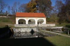 Monastero Wessobrunn fotografia stock libera da diritti
