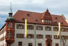 Monastero a Wurzburg, Germania Fotografia Stock