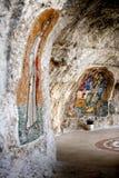 monasteru Montenegro ostrog Obraz Royalty Free