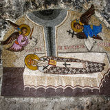 monasteru Montenegro ostrog Zdjęcie Royalty Free