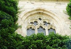 monasteru okno Fotografia Royalty Free