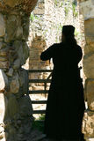 monasteru ortodoksyjny księdza serbian Obraz Stock