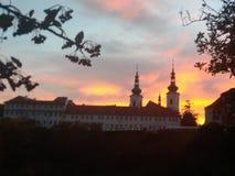 monasteru Prague strahov obraz royalty free