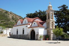 monasteru Rhodes skiadi Obraz Royalty Free