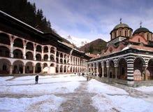 monasteru rila zdjęcia stock