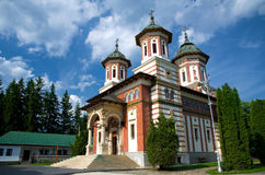 monasteru sinaia Obrazy Stock