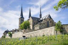 Monasteru St Michael Bamberg Fotografia Royalty Free