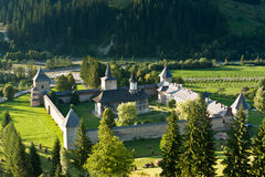 monasteru sucevita Obraz Royalty Free