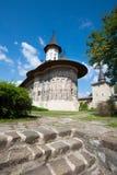 monasteru sucevita Obrazy Stock