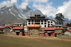 monasteru tengboche Fotografia Stock