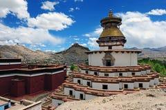 monasteru tibetan Obrazy Royalty Free