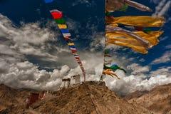 monasteru tibetan Zdjęcia Royalty Free