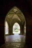 monasteru wewnętrzny veruela zdjęcia royalty free