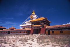 The monastery Royalty Free Stock Images