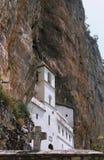 Monastery. Orthodox monastery of ostrog near niksic montenegro Stock Images