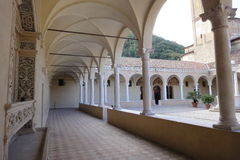 Monastery. Internal view of a benedettin italian monestary sited in Veneto Royalty Free Stock Photography
