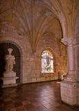 Monastery. Inside a religious chapel in a monastery Stock Photo
