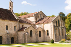 Monastery. The Monastery at Fontenay in Borgogne, France Royalty Free Stock Images