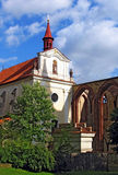 Monastery. Ancient monastery in Sazava, Czech Republic stock images