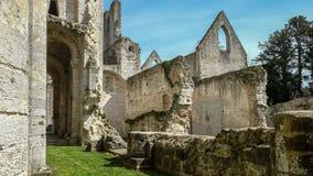 Monastery Abbaye de Jumièges/abadía de Jumièges en Normandía, Francia Fotografía de archivo libre de regalías