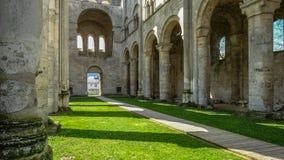 Monastery Abbaye de Jumièges/abadía de Jumièges en Normandía, Francia Fotos de archivo libres de regalías