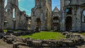 Monastery Abbaye de Jumièges/abadía de Jumièges en Normandía, Francia Imagenes de archivo