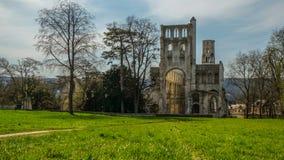Monastery Abbaye de Jumièges/abadía de Jumièges en Normandía, Francia Fotografía de archivo