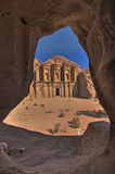 The Monastery (Ad-deir). Petra, Jordan Royalty Free Stock Image