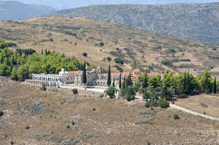 Monastery of Agia Marina at Argos Peloponnese, Greece Stock Photos
