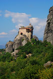 Monastery Agios Nicolaos, Meteora, Greece Royalty Free Stock Image