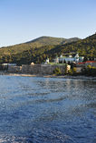 Monastery of Agios Pantelehmwn Stock Photography