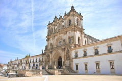 Monastery of Alcobaca Stock Photography
