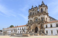 Monastery of Alcobaca Stock Photography