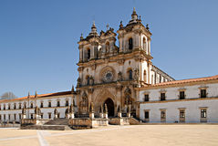 The Monastery of Alcobaca, Portugal. The Monastery of Alcobaca (Mosteiro de Santa Maria de Alcobaca) is a medieval monastery in central Portugal Royalty Free Stock Photography