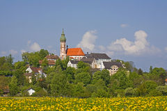 Monastery Andechs Royalty Free Stock Images