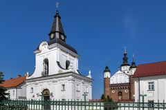 The Monastery of the Annunciation in Suprasl. Also known as the Suprasl Lavra, Poland Royalty Free Stock Photos