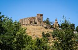 Monastery at Aracena, Huelva, Andalusia, Spain. Image of a monastery at Aracena, Huelva, Andalusia, Spain Royalty Free Stock Photos