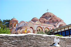 The Monastery of Archangel Michael Stock Images