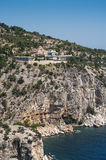 Monastery of Archangel Michael , Thassos Stock Image