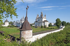Monastery of Archangel Michael in Yuriev-Polsky Stock Photo
