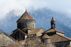 Monastery Armenia. Ancient Christian Monastery / Church in Armenia - Haghpat Monastery. Lori royalty free stock photography