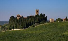 Monastery Badia a Passignano Royalty Free Stock Image