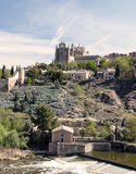 Monastery on the banks of the River Tagus Stock Photos